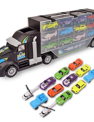 Недорогие Игрушечные машинки и модели-Игрушечные машинки Playsets автомобиля Игрушечные самолеты Гоночная машинка Самолёт Веселье Детские Мальчики Игрушки Подарок