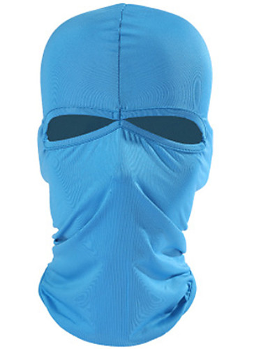 cheap Cycling Clothing-Balaclava Windproof Sunscreen Quick Dry Dust Proof Comfortable Bike / Cycling Red Grey Royal Blue Lycra for Unisex Camping / Hiking Ski / Snowboard Hiking Cycling / Bike Motobike / Motorcycle Solid