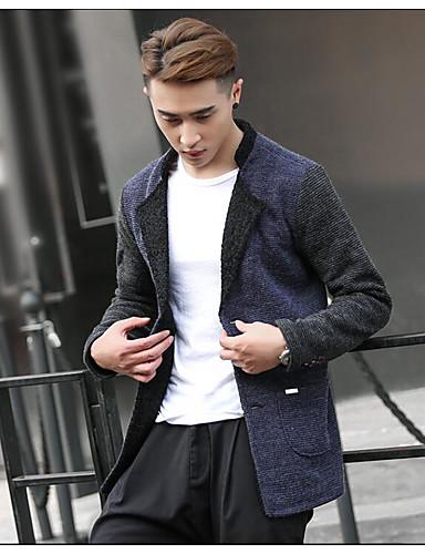 Herrn - Solide Einfarbig Aktiv Street Schick Sport Jacke