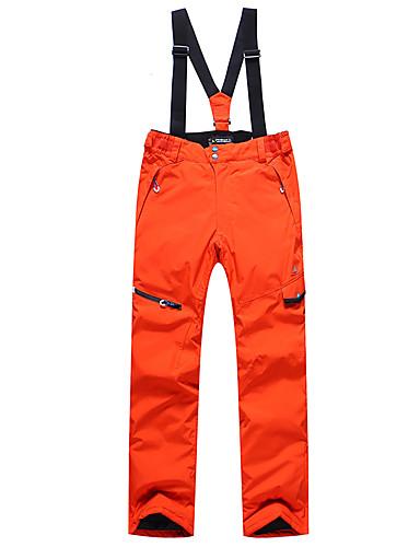 povoljno Skijaška i snowboard odjeća-Phibee Muškarci Skijaške hlače Vodootporno Vjetronepropusnost Toplo Skijanje Poliester Hlače Snježni prsluk Skijaška odjeća