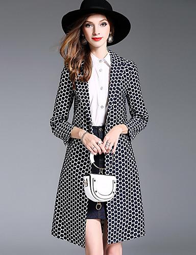 Damen - Punkt Street Schick Trench Coat