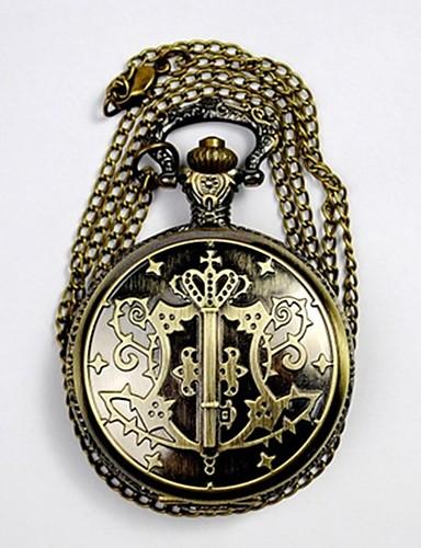 Dla par Kwarcowy Zegarek kieszonkowy Chiński Wodoszczelny Na codzień Stop Pasmo Luksusowy Na co dzień Nowoczesne Złoty