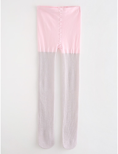 Spodnie Bawełna Dla dziewczynek Jendolity kolor Groszki Prążki Wiosna, jesień, zima, lato Blushing Pink Light Green