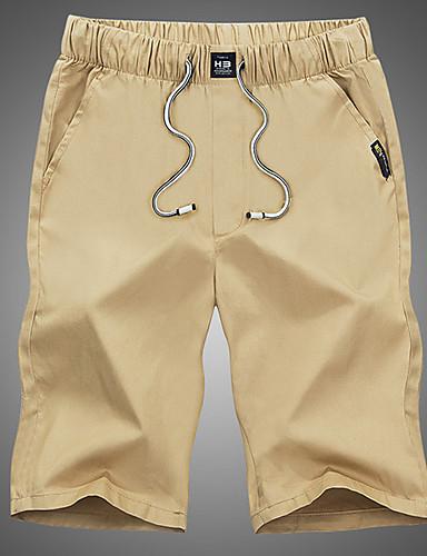 בגדי ריקוד גברים ספורט ושטח כותנה צ'ינו מכנסיים אחיד