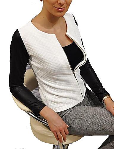 Women's Basic Jacket - Color Block / Spring
