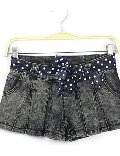 מכנסיים גיאומטרי שורטים פשוט בגדי ריקוד נשים
