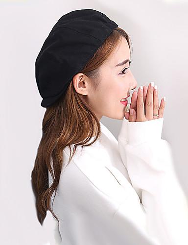 כובע כומתה (בארט) כובע עם שוליים רחבים כובע שמש כובע קסקט כובע בייסבול - אחיד כותנה עבודה יוניסקס