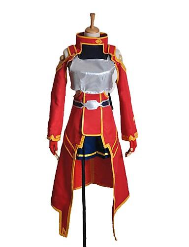povoljno Anime kostimi-Inspirirana SAO Swords Art Online Silica Anime Cosplay nošnje Japanski Cosplay Suits Other Dugih rukava Top / Suknja / Rukavice Za Uniseks