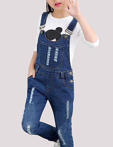 premium selection 33cf0 90d9f Da ragazza Semplice Jeans Salopette e tuta del 6424867 2019 ...