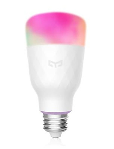 cheap Free Shipping-MIJIA YEELIGHT YLDP06YL Smart Light Bulb E27 16 Million Colors WiFi Enabled Work with Amazon Alexa Support Google Home