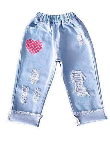 Dzieci Dla dziewczynek Nadruk Spodnie