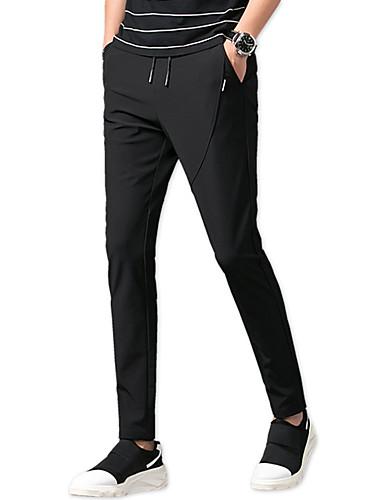 Bărbați Mărime Plus Size Zvelt Pantaloni Chinos / Pantaloni Sport Pantaloni Mată / Sfârșit de săptămână