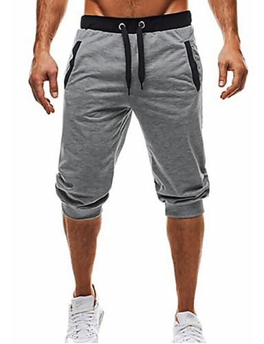 Męskie Podstawowy Spodnie dresowe / Typu Chino Spodnie Jendolity kolor