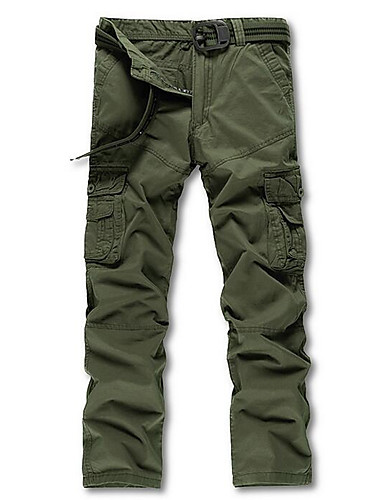 Bărbați Șic Stradă Pantaloni Chinos Pantaloni Mată