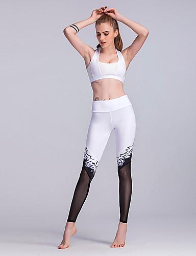 Pentru femei Talie Înaltă Pantaloni Sport Pantaloni Bloc Culoare