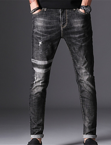 Bărbați De Bază Blugi Pantaloni Mată