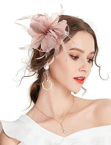 povoljno Ukrasi za kosu-Žene Kentucky Derby Jednobojni Vintage Elegantno Cvijet,Tekstil-Kubični Zirconia / Vjenčanje / Sva doba