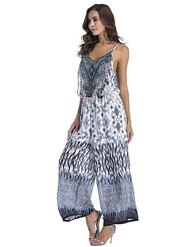 Γυναικεία Εξόδου   Παραλία Τιράντες Σκούρο γκρι Γκρίζο Μπλε Απαλό Πλατύ  Πόδι Φόρμες ae49c324bb1
