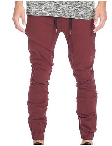 Bărbați De Bază Pantaloni Chinos Pantaloni Mată