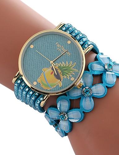 Xu™ Dámské Hodinky k šatům Náramkové hodinky Křemenný kreativita Hodinky na  běžné nošení imitace Diamond 85aff192fa