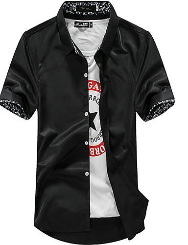 Majica Muškarci - Osnovni Dnevno Geometrijski oblici