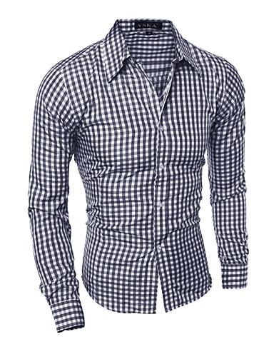Majica Muškarci Dnevno Karirani uzorak