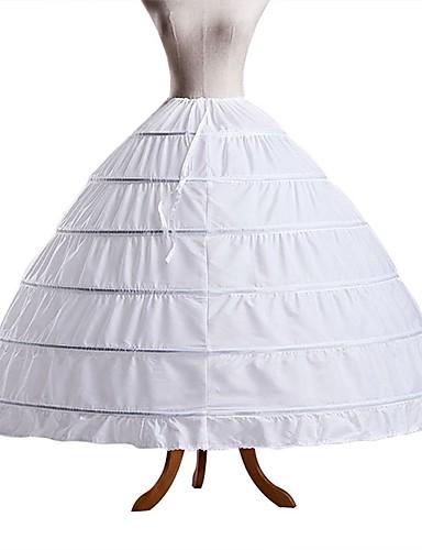 preiswerte Unterröcke für Hochzeitskleider-Hochzeit / Veranstaltung / Fest Unterhosen POLY Bodenlänge Shapeware Schlüpft / Normallänge mit