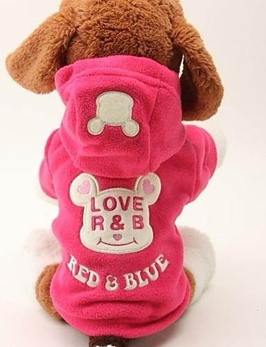 Недорогие Одежда для собак-Собаки   Коты Плащи   Комбинезоны Одежда для  собак Слова   eae93de61a377