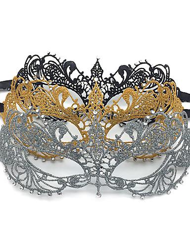 abordables Accessoires Femme-Femme Elégant Masque de bouche - Dentelle, Broderie Papillon