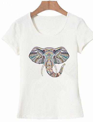 fe79f722 Women's Basic T-shirt - Animal Print 6864034 2019 – $6.90