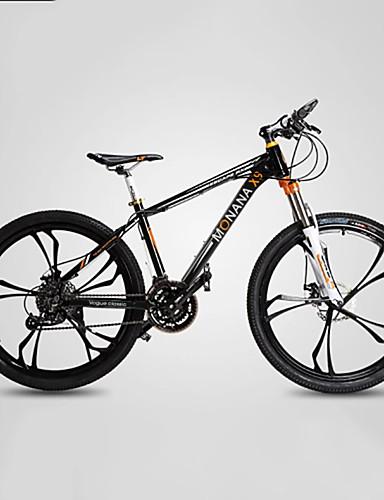 povoljno Biciklizam-Mountain Bike Biciklizam 27 Brzina 26 inča / 700CC Shimano M370 Disk kočnica Vilica s oprugom Monocoque Običan Aluminijska legura / #
