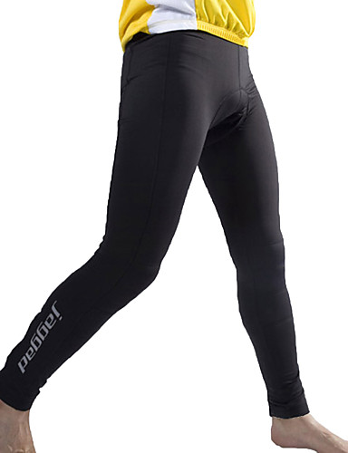 cheap Cycling Clothing-Jaggad Men's Cycling Tights Cycling Pants Bike Pants Bottoms Windproof 3D Pad Quick Dry Sports Solid Color Spandex Winter Dark Gray Mountain Bike MTB Road Bike Cycling Clothing Apparel Relaxed Fit