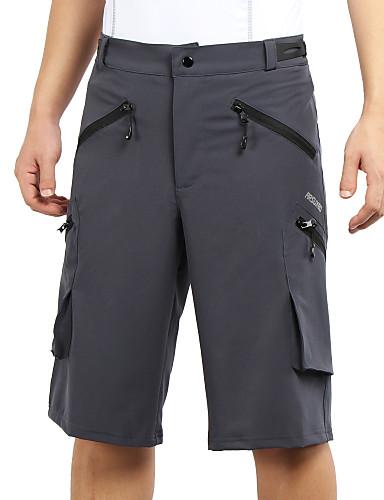 5fa69c7d5 Arsuxeo Men s Cycling MTB Shorts Bike Baggy Shorts MTB Shorts Bottoms Quick  Dry Anatomic Design Sports Polyester Spandex Black   Blue   Grey Mountain  Bike ...