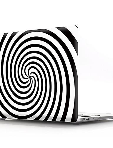 MacBook slučaj za zrak pro retina 11 12 13 15 geometrijski uzorak pvc laptop poklopac slučaj za MacBook novi pro 13,3 15 inčni sa touch bar