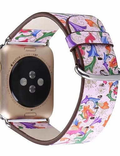 prava koža / Poli uretanska Pogledajte Band Remen za Apple Watch Series 4/3/2/1 Pink 23 cm / 9 inča 2.1cm / 0.83 Palac