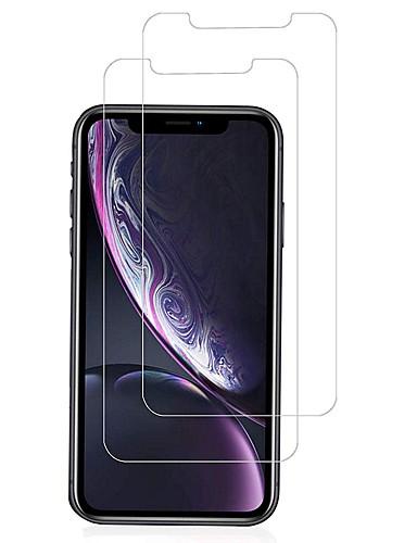AppleScreen ProtectoriPhone XR 9H tvrdoća Prednja zaštitna folija 2 kom Kaljeno staklo