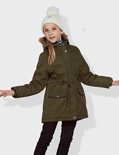 cheap Outdoor Clothing-All Unisex Hiking Windbreaker Padded Hiking jacket Outdoor Autumn / Fall Spring Lightweight Windproof Jacket Full Length Visible Zipper Camping / Hiking Casual Camping / Hiking / Caving Army Green