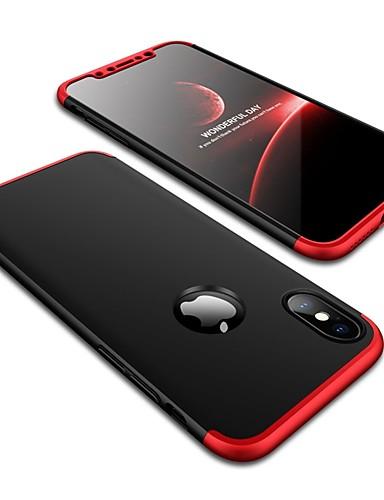 Θήκη Za Apple iPhone X Otporno na trešnju / Mutno Stražnja maska Jednobojni Tvrdo PC