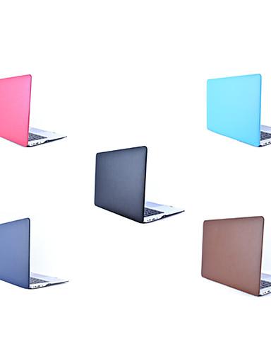 MacBook ケース ソリッド PUレザー / 本革 / PVC のために 新MacBook Pro 15