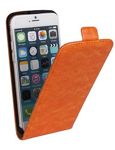 Pouzdro Uyumluluk Apple iPhone 8 Plus / iPhone 8 / iPhone 7 Plus Satandlı / Flip Tam Kaplama Kılıf Solid Sert PU Deri