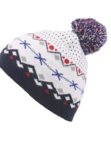 Női Mértani Poliészter, Aktív - Széles karimájú kalap / Tél