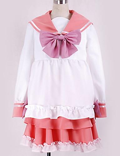 """billige Anime Kostymer-Inspirert av Vokaloid Cosplay Anime  """"Cosplay-kostymer"""" Cosplay Klær Sydd Blonde / Moderne Halsklut / Kjole / Kostume Til Herre / Dame"""