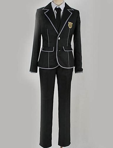 afe403b4766e1 Inspirado por Guilty Crown Ouma Shu Anime Fantasias de Cosplay Uniformes  Escolares Formais   Contemporâneo Casaco   Blusa   Calças Para Homens    Mulheres