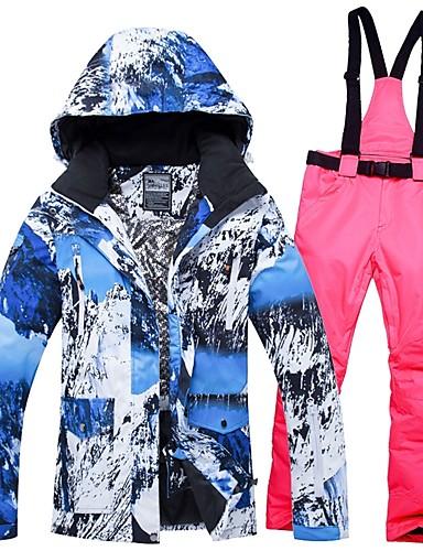 d4c255f68978 Χαμηλού Κόστους Ski  amp  Snowboard-Γυναικεία Μπουφάν και παντελόνι για σκι  Αντιανεμικό Ζεστό Ικανότητα