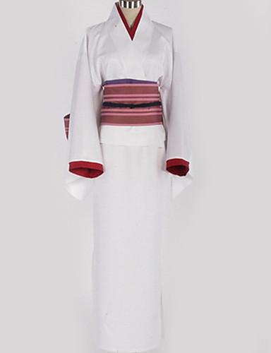 levne Anime kostýmy-Inspirovaný Noragami Nora Anime Cosplay kostýmy japonština Cosplay šaty Prošívaná krajka Pásek / Více doplňků / Kostým Pro Pánské / Dámské