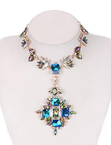 abordables Joyas de Moda-Mujer Collares - Moda / Colorido Arco iris