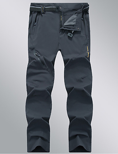 cheap Outdoor Clothing-Men's Hiking Pants Outdoor Lightweight Quick Dry Breathability Sweat-Wicking Spandex Pants / Trousers Bottoms Hunting Fishing Hiking Dark Grey Army Green Khaki 4XL 5XL 6XL UV Resistant High Elasticity