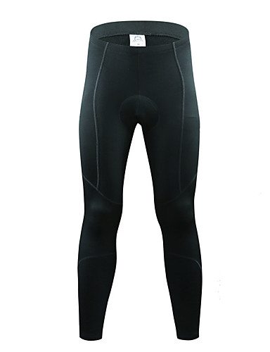 ... Cycling Tights Bike Pants   Trousers Bottoms Thermal   Warm Fleece  Lining Breathable Sports Winter Black Mountain Bike MTB Road Bike Cycling  Clothing ... 33837a0a4