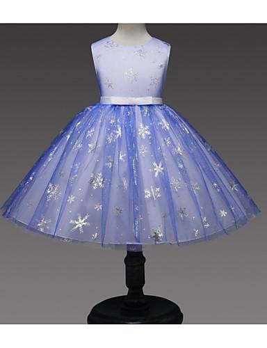 Παιδιά Κοριτσίστικα Βασικό Μονόχρωμο Αμάνικο Φόρεμα Πράσινο του τριφυλλιού