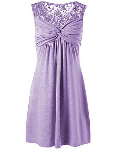 abordables Collection Grande Taille-Chemise Grandes Tailles Femme, Couleur Pleine Mince